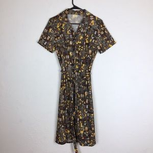 Vintage 70s house wife dress